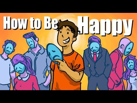 """How To Be Happy - """"THE TRUTH"""" 3 Facts That Nobody Told You"""
