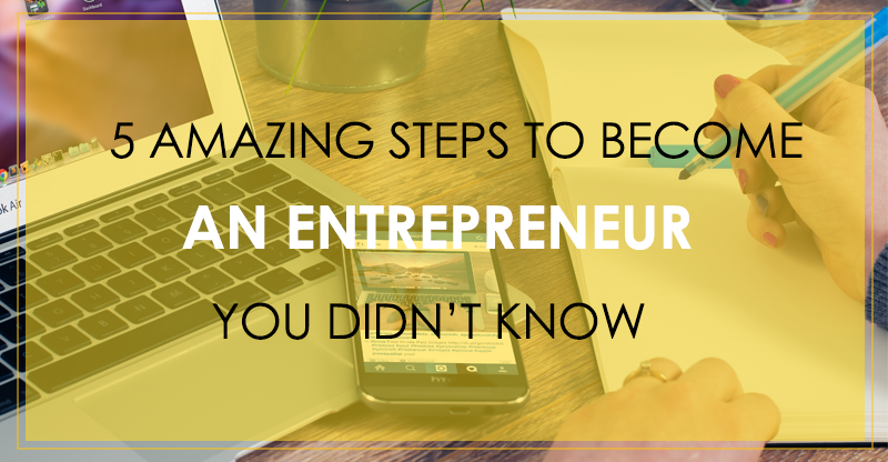 Become An Entrepreneur