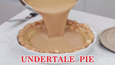 Undertale Butterscotch-Cinnamon Pie Better
