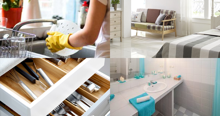 10 Easy Tips For a Clean Home