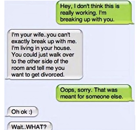 What would you do if I broke up with you or something get back with my ex.