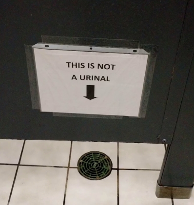 This is not a urinal
